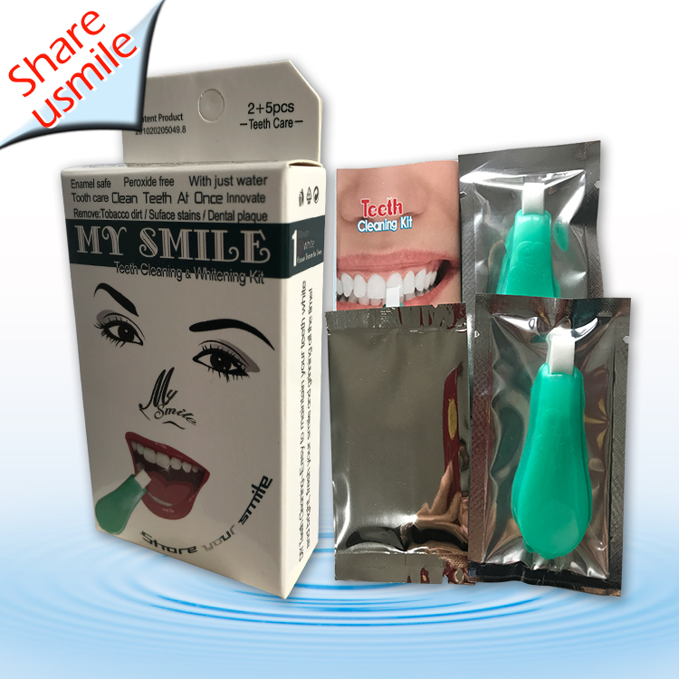 New Arrival 2020 Wholesale Tooth Kits Home Care Products Fast Whitening Effect Teeth cleaning kit
