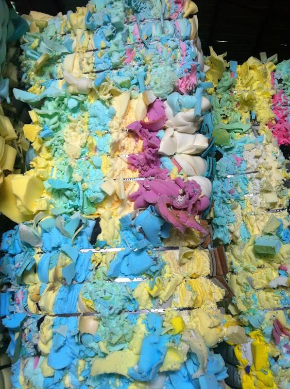 Grade a pu foam scrap