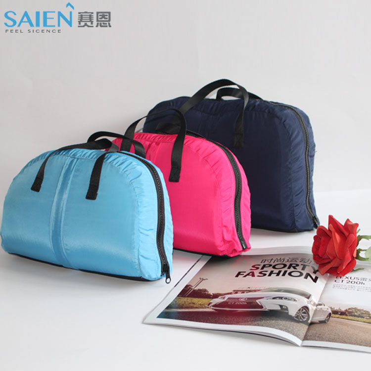 Traveling foldable handbag back and neck support memory foam pillow
