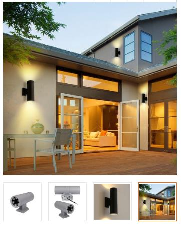 12w exterior wall sconce