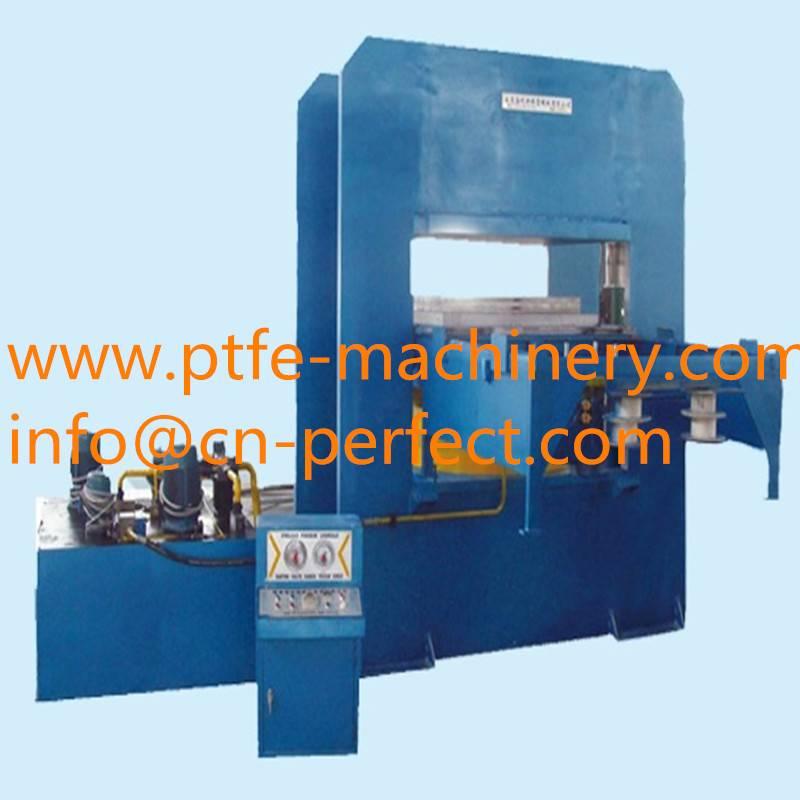 Teflon PTFE Rod bar Single Screw Extruding machine