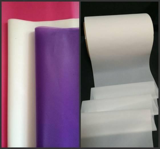 Raw material for sanitary napkin, back sheet pe film