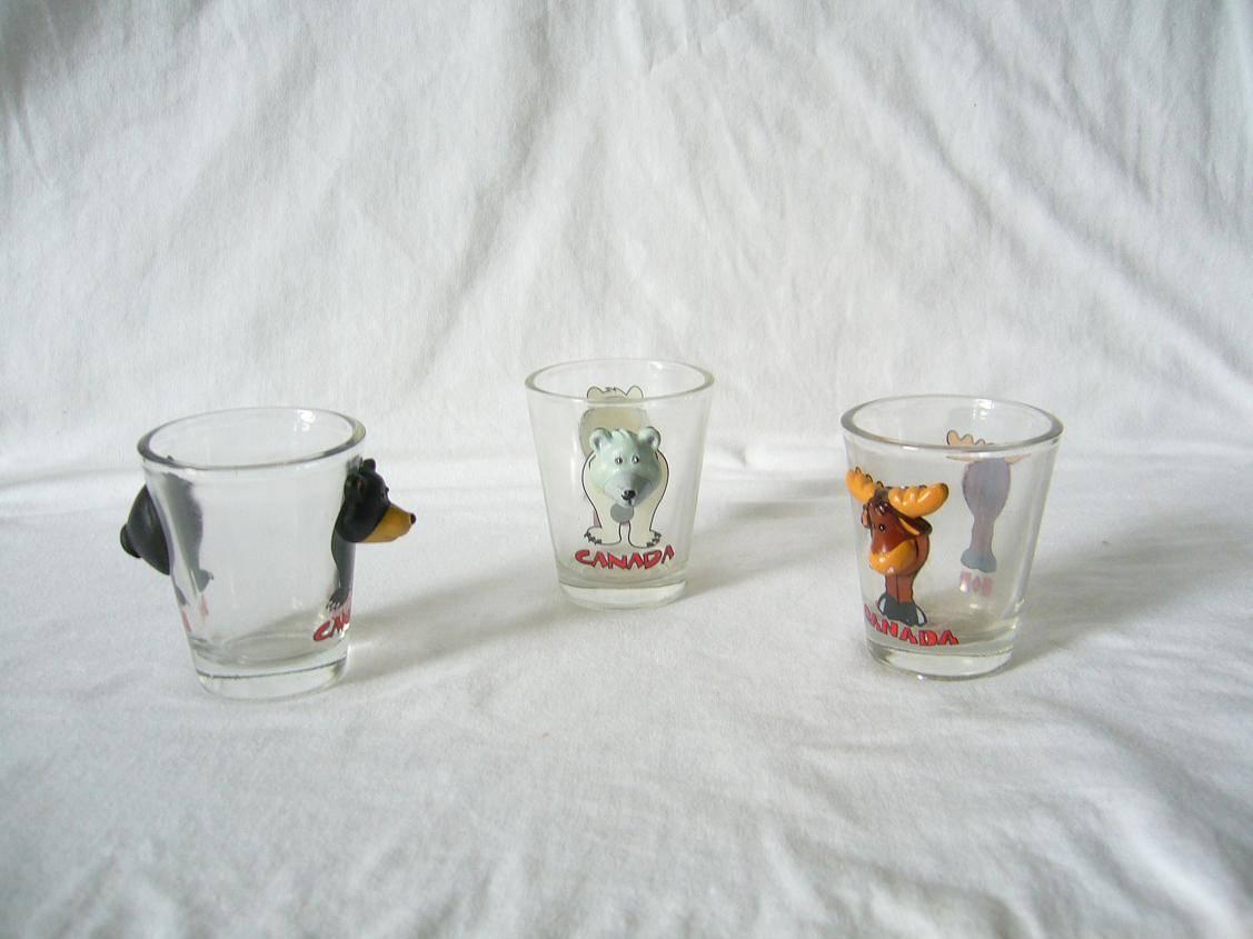 Resin Animal  Shot  Glass