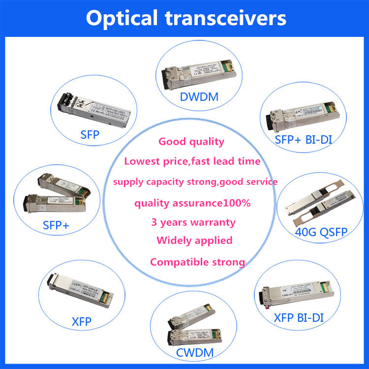 Cisco QSFP-40G-SR-BD Compatible 40GBASE-SR Bi-Directional Duplex LC Transceiver