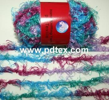 1nm 100%polyester hand knitting yarn , Yarn