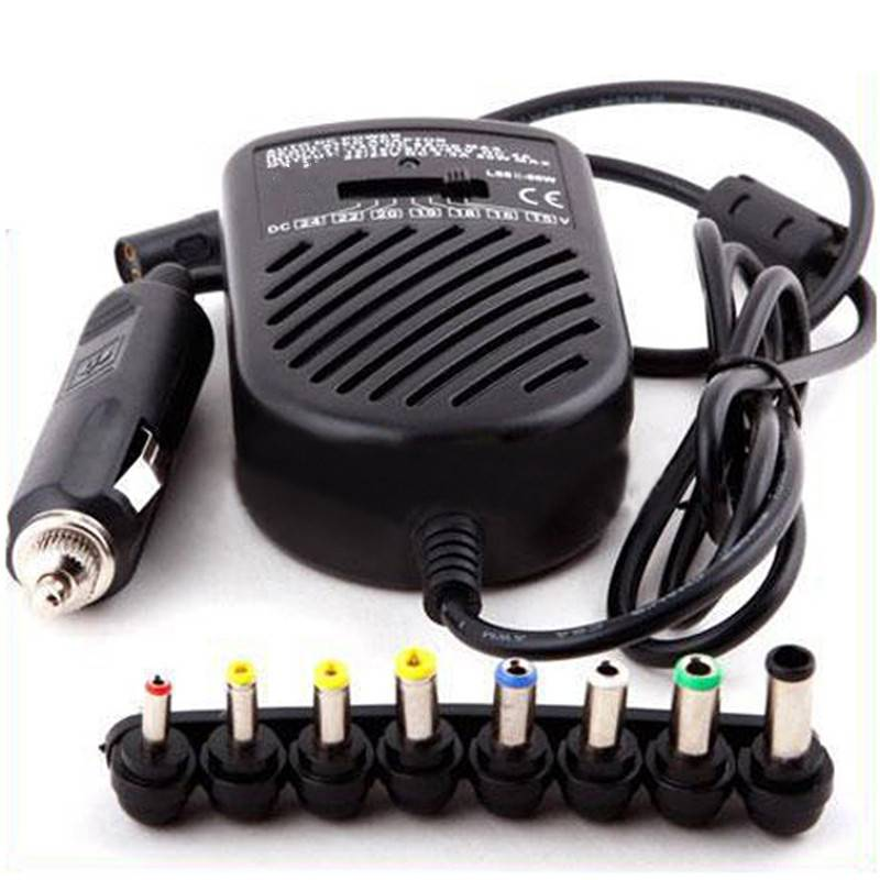 Goldlink 80W UNIVERSAL Notebook Laptop DC CAR Charger Power Adapter