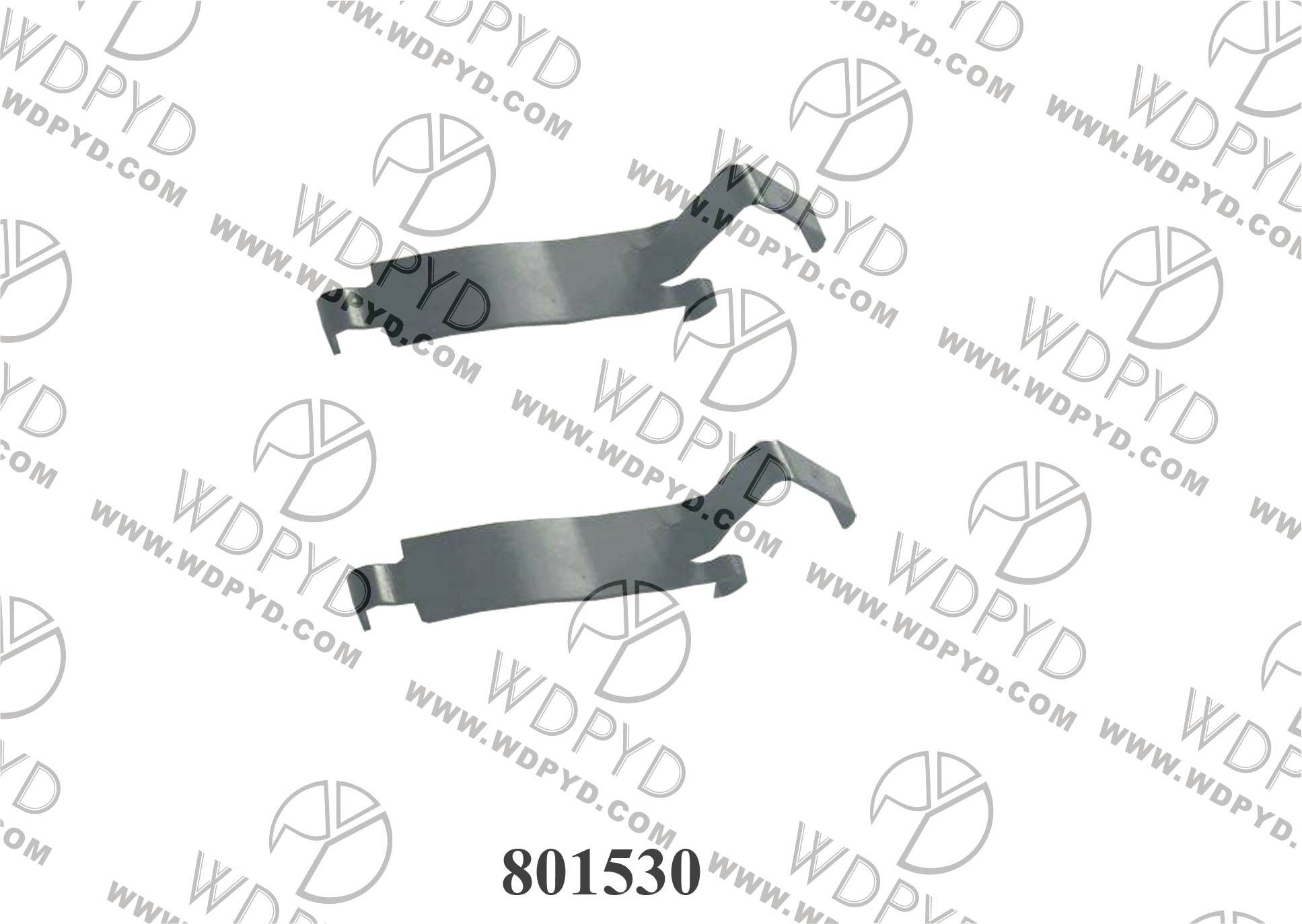 Wellde Disc Brake Pad Clip 801530