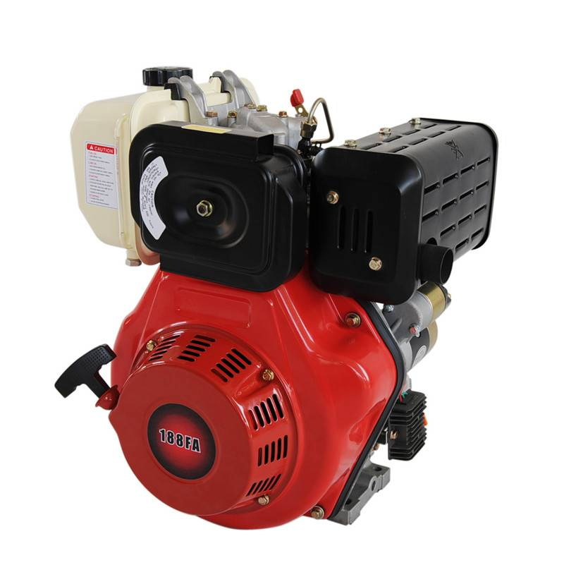 9-10 HP 1 cylinder air cooled diesel engine