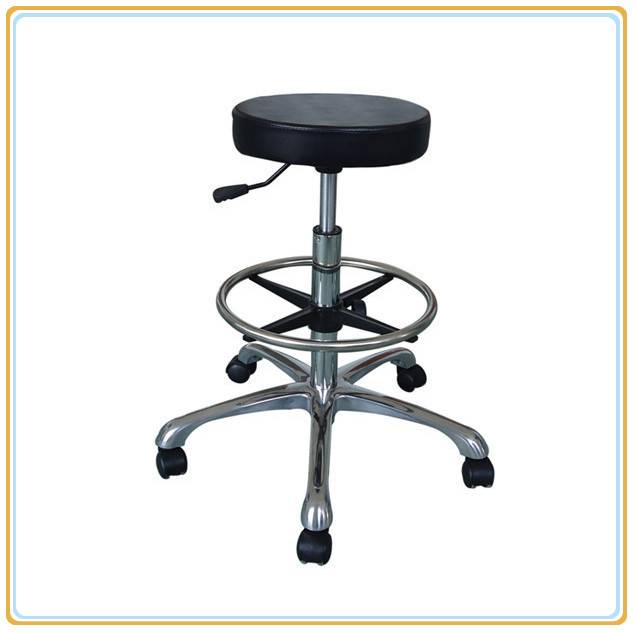 ESD Safe PU Leather Round Chair