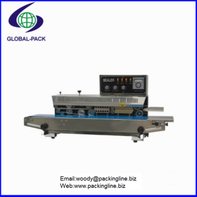 FRM-980AI Semi automatic sealer small bag sealing machine with R T type ink printing wheel