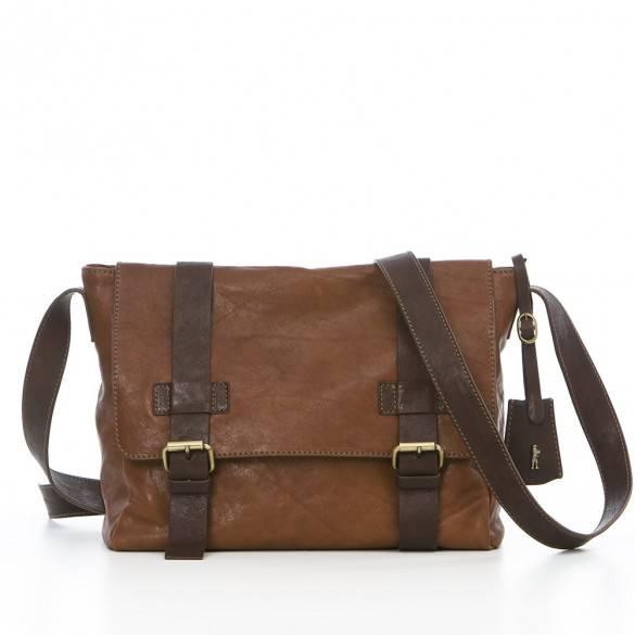 Italian genuine leather bag for men