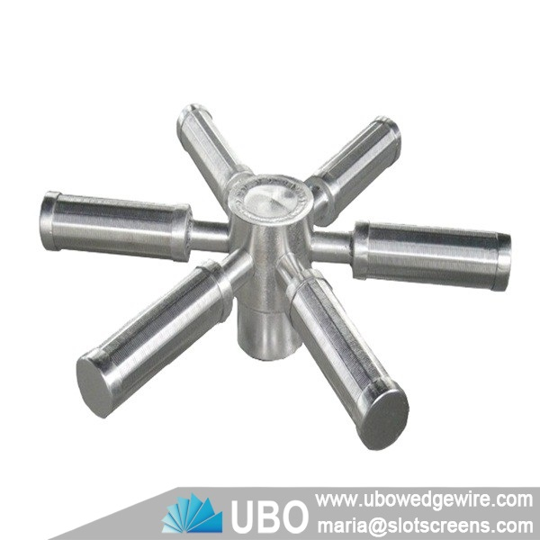Stainless steel hub lateral distributor
