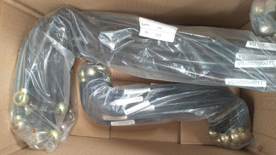 Sinotruk HOWO Fuel Pipe for Sale-VG1092080017/VG1092080018