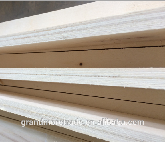 full poplar lvl plywood for funiture/packing,high grade best lvl for construction wood stick