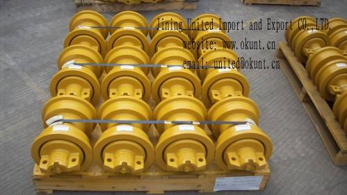 SINGLE FLANGE TRACK ROLLER FOR BULLDOZER