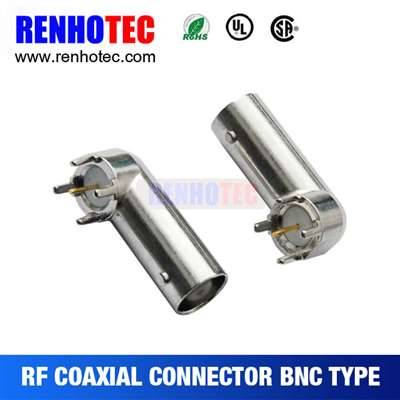 BNC JACK Right Angle For PCB Mount
