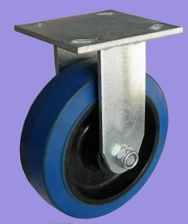 4inch plate all direction Rubber Caster