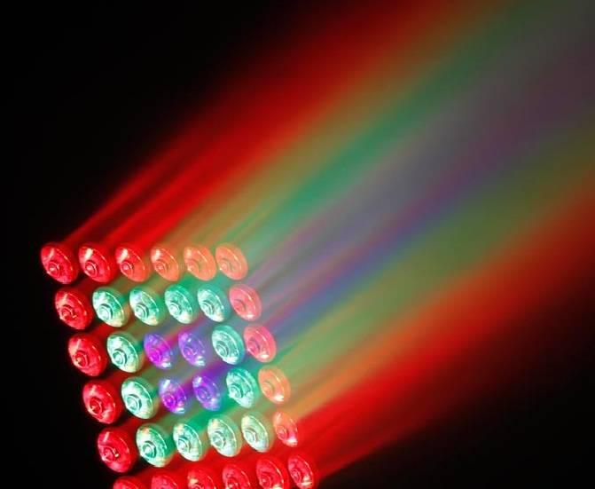 25pcs RGBW Matrix Disco stage Light for dj/disco/concert