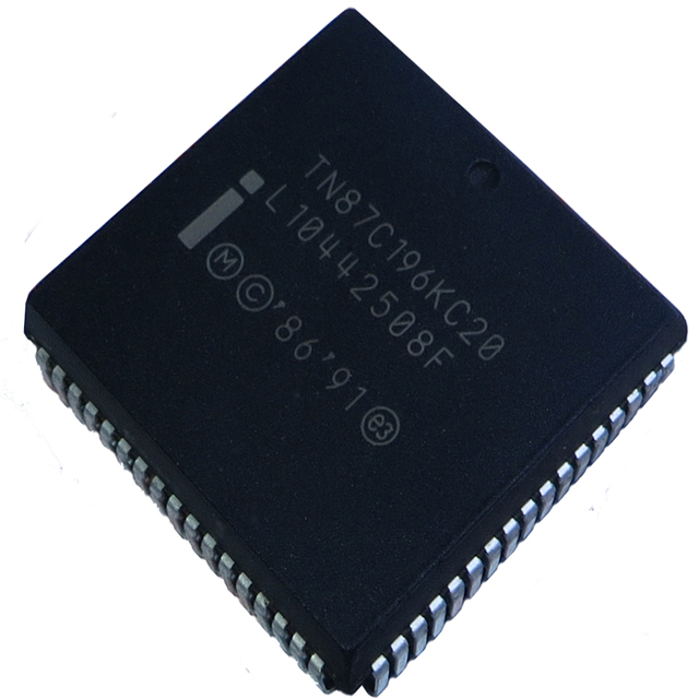 TN87C196KC20,Intel MCU 16-bit CISC 16KB EPROM 5V 68-Pin PLCC