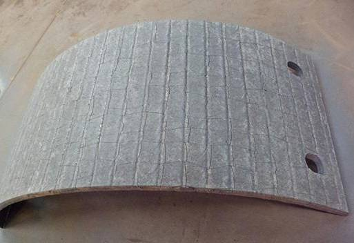 Hardface overlay welding wear and impact resistant plate