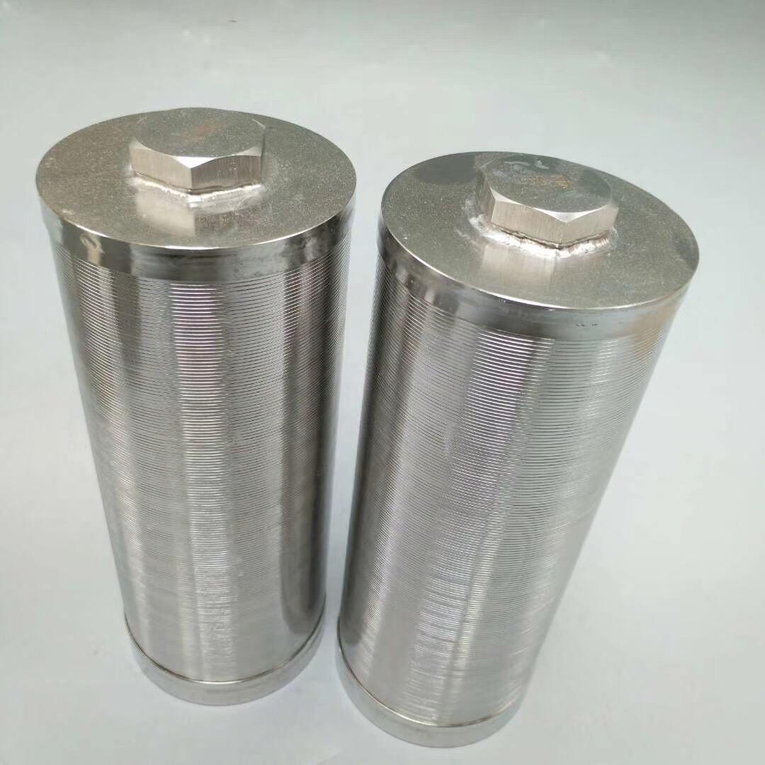Stainless steel water well filter tube / Johnson screen