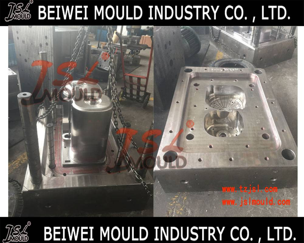 Injection plastic washing machine mould