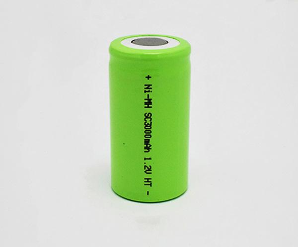 Ni-MH Battery Cell SC3000mAh1.2V HT