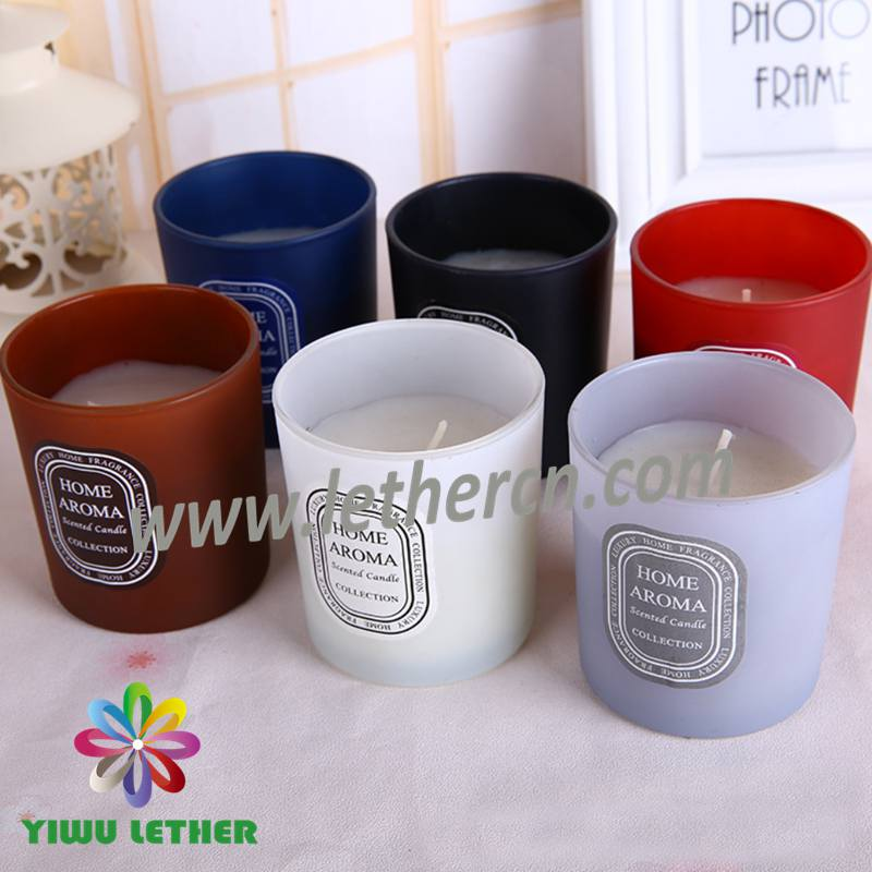 Factory Customized Wholesale Eco Friendly Luxury Scented Glass Jar Candles
