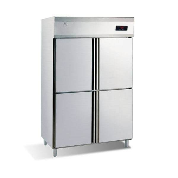 Hot sale 4 doors stainless steel kitchen refrigerator