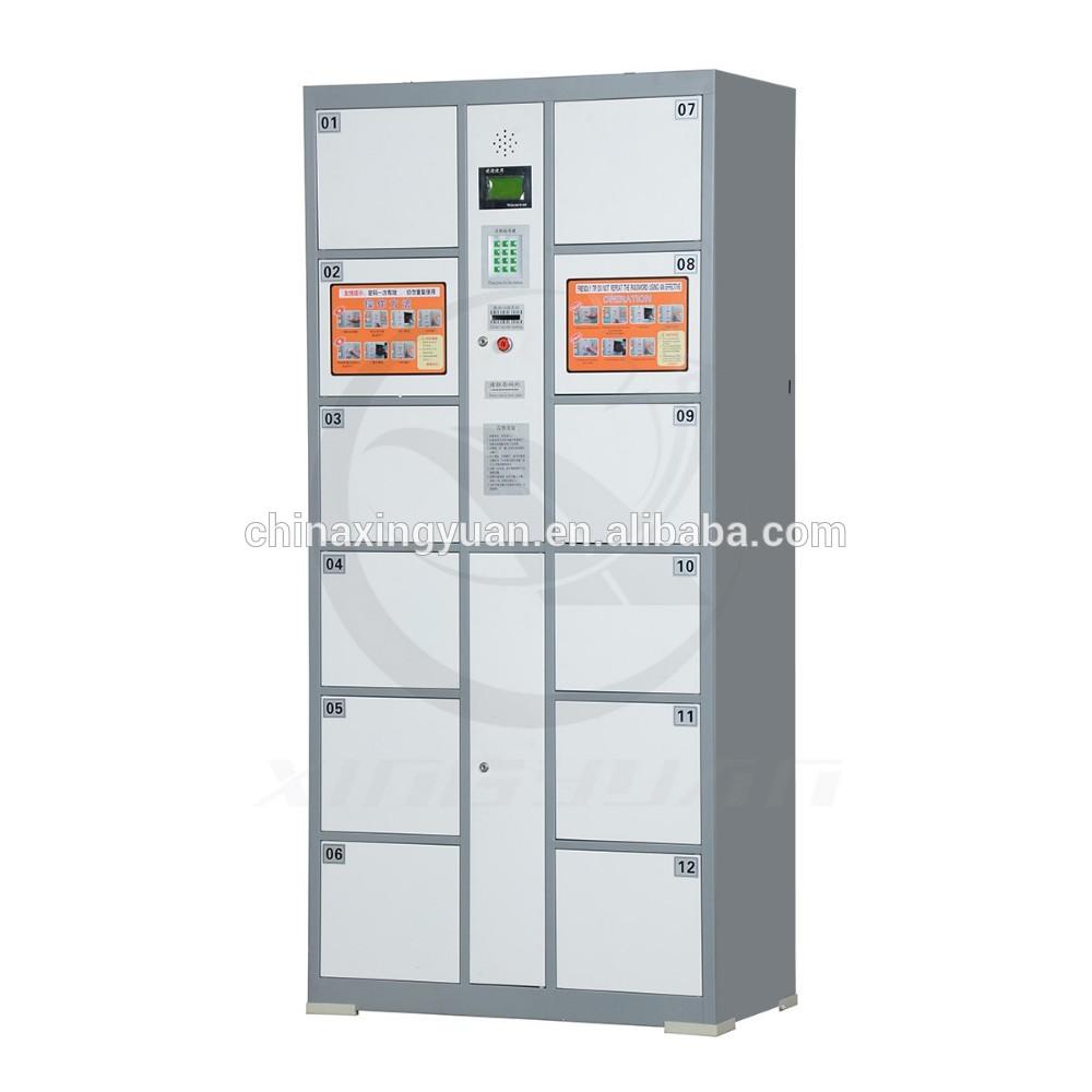 Safe door utility 12 door electronic lock storage cabinet locker