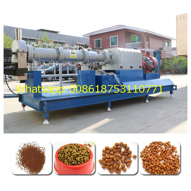 dog food extrusion machine dog food pellet making machine