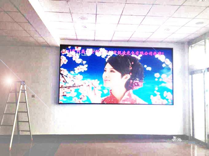 P3 Full Color SMD Indoor Led Display Screen, Seamless splicing