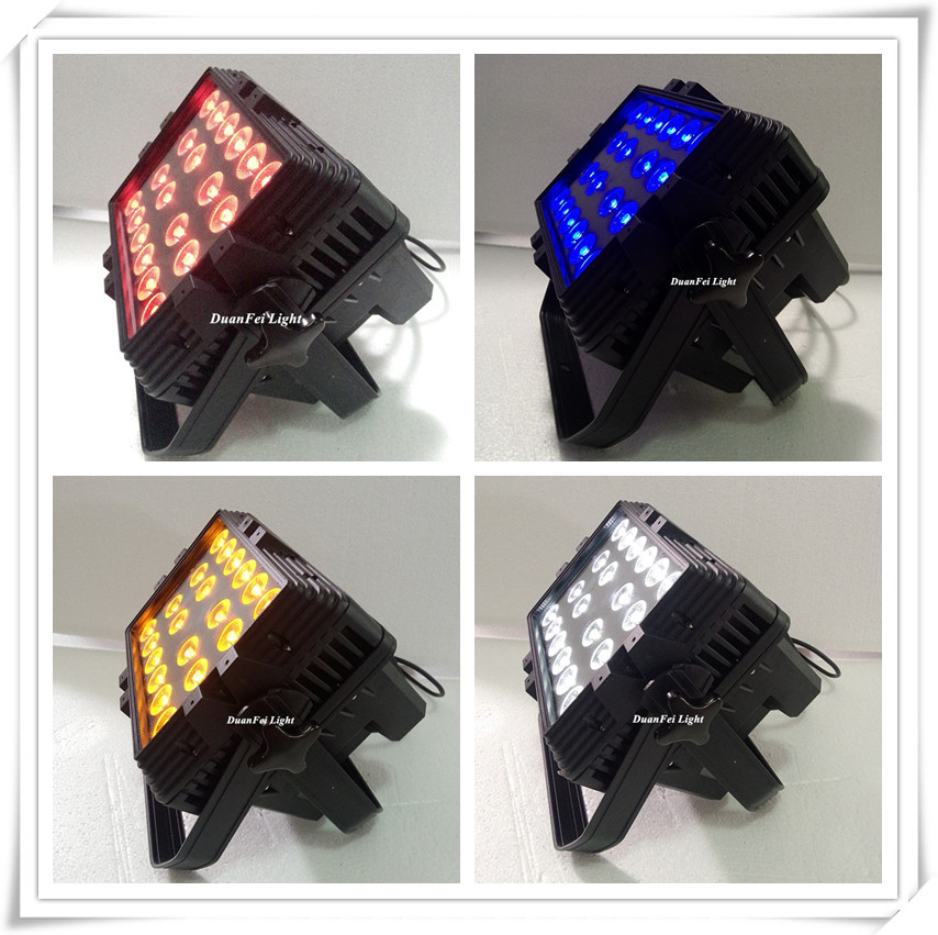 IP65 led rgbwa city color outdoor led wall washer light 20x15w