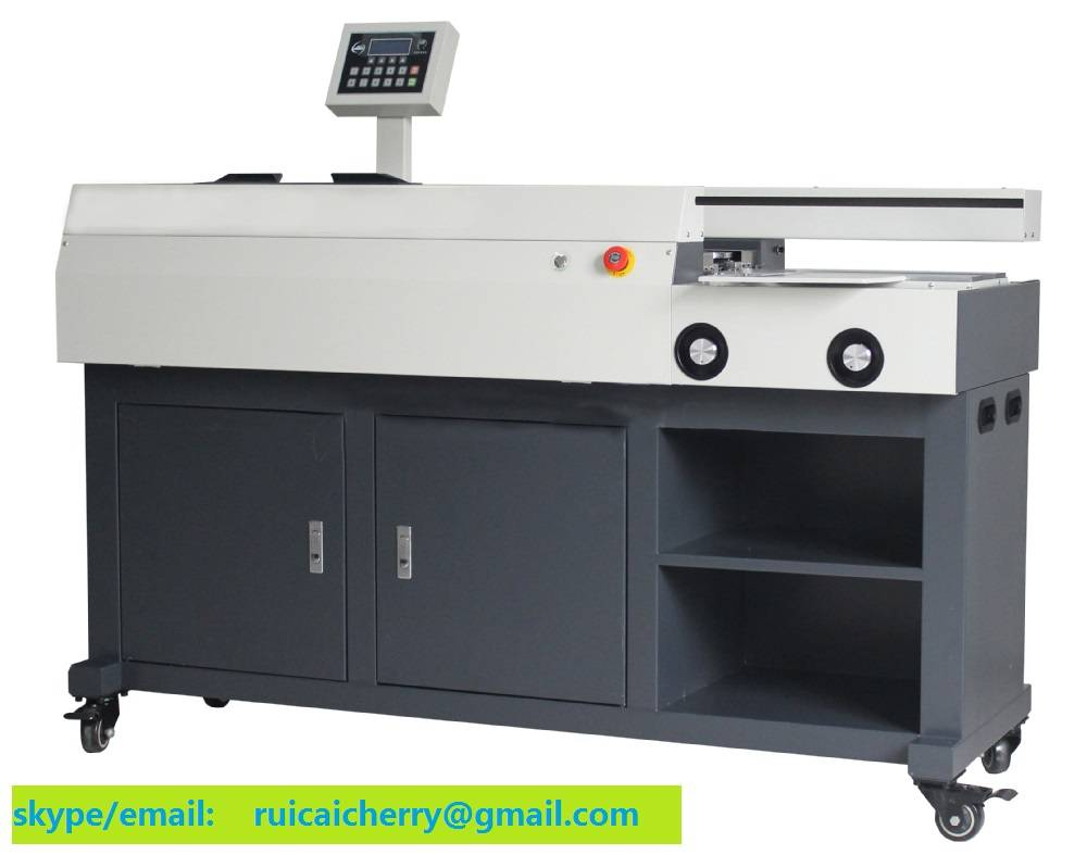 Factory Export with Lower Price D60-A4 Automatic Perfect Book Binding Machine