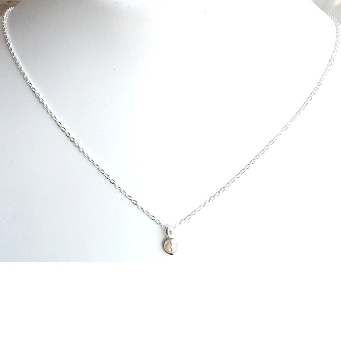 cz silver pendant