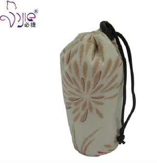 Cute and Convenient Drawstring Bag with Flower Printing