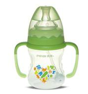 160ml Wide-neck finger bottle with hanger( dual color)