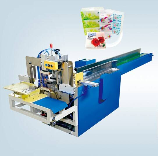 BZ-D Facial Tissue,Napkin Paper Bagging and sealing Machine