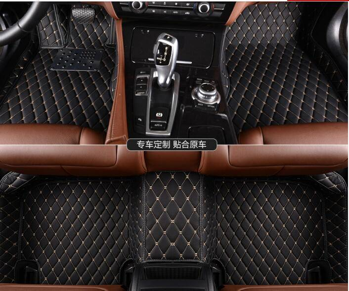 Suzuki Alivio Car Mats 5D Full Surround Leather Car Mats for Suzuki Jimny XPE Car Floor Mats