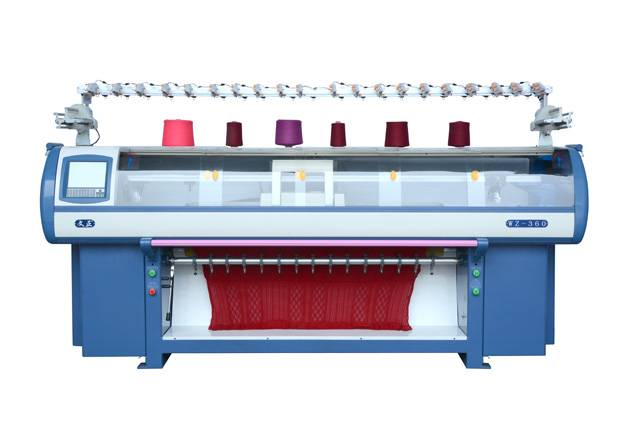 High speed automatic high speed variable dynamic computerized flat knitting machine