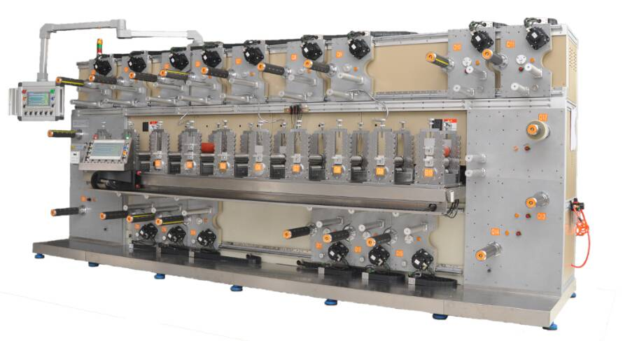10 workstation rotary die cutting machine