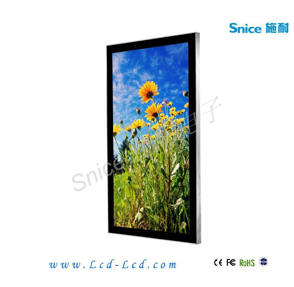 Snice 42inch wall mount led advertising player