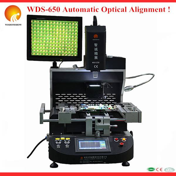 WDS-650 bga rework station laser bga reballing machine computer graphic repair machine