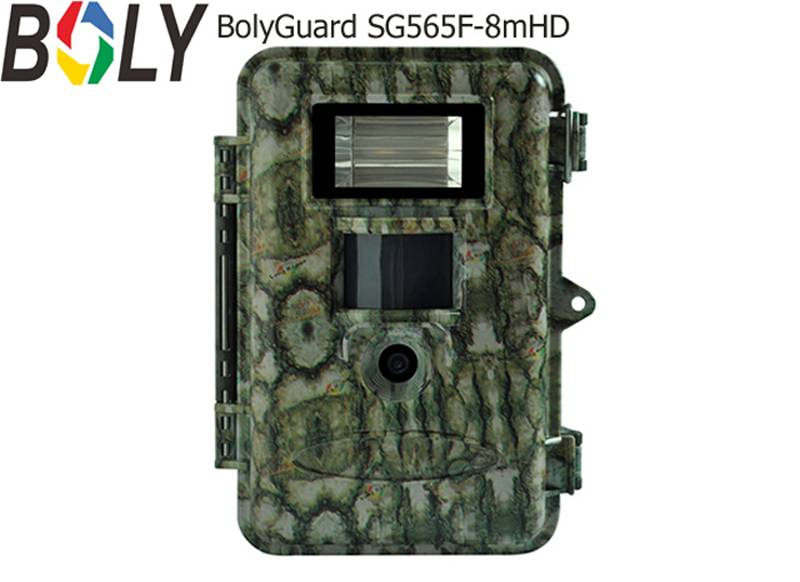 White Flash Hunting Trail Game Deer Camera with 8MP Full Color Day & Night Image and 720P HD Video A