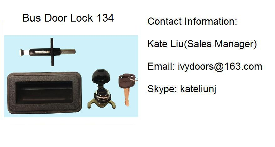 Out swing bus door lock assembly 134 (Toyota Coaster ,ANKAI,YUTONG,KING LONG)
