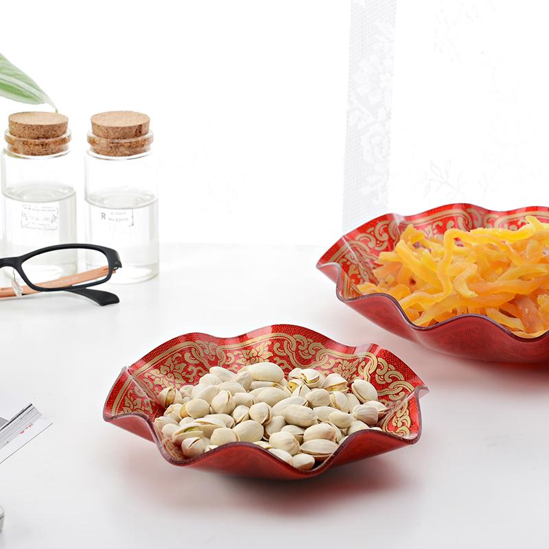 4042 acrylic Beautiful and UNBreak fruit tray/plastic fruit bowl