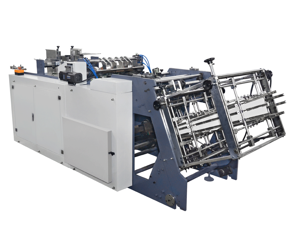 MR-800 high speed pizza slice box making machine forming machine erecting machine factory direct sup