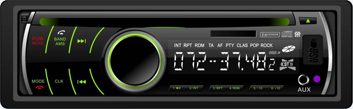Detachable Panel Car CD,MP3 Player HMF-8728