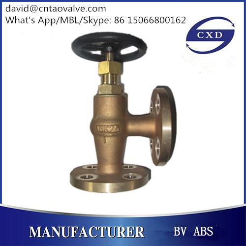 angle type JIS bronze or brass valve