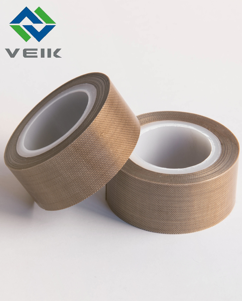 Non-stick 0.4mm thick ptfe fiberglass adhesive tape